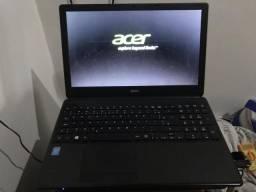 Notebook acer i5, 6gb, Hd500gb (Aceito Cartão)