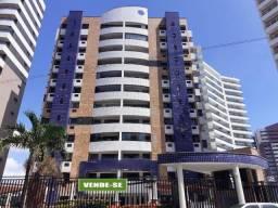 Patriolino Ribeiro - Apartamento 146,41m² com 4 suítes e 5 vagas