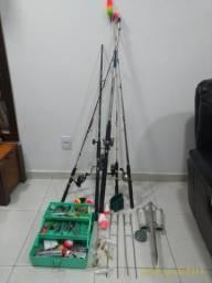 Varas de Pesca Kit completo