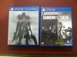 Rainbowsix Siege e Bloodborne