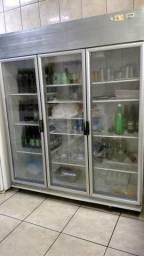 Refrigerador Expositor de inox
