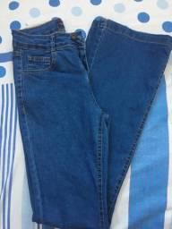 Calça Jeans Flare Azul n36
