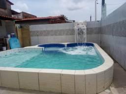 Alugo casa com piscina praia do sol cabuçu
