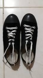 Sapato colégial super star por 40 reais