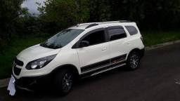Chevrolet Sping Activ 2015 branco automatica completa 5 lugares com 58.000Km pneus novos - 2015