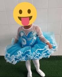 Vestido da Frozen Bailarina