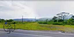 Terreno industrial à margem da BR 101 com 122.000m², próximo ao Posto Sinuelo