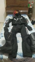 Macacão Forza preto
