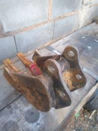 Concha de 20cm mini escavadeira