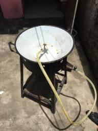 máquina de assar batatinha a gás