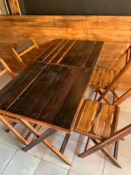 Cadeiras e mesas dobráveis direto de fábrica