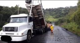 Título do anúncio: caminhão 1620 caçamba trucado