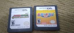 Título do anúncio: Vendo Mario Party DS e Mario e Luigi Bowsers inside story