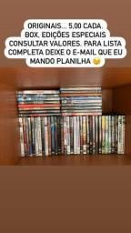 DVDs diversos originais e impecáveis