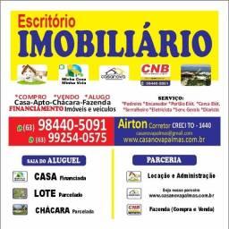 Título do anúncio: Corretor de imóveis / Estagiário c CRECI Veíc / Mot p Plantão Taquaral PalmasTO  Airton