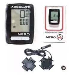 Ciclo computador Nero Absoluto e Farol Bike Lanterna WS-263 Usb Recarregável semi-novos
