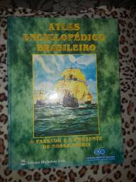 Livro Atlas Enciclopédico Brasileiro