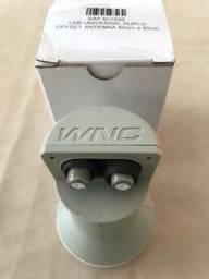 Lnb Duplo Universal WNC - Off Set Antena 60cm a 90cm