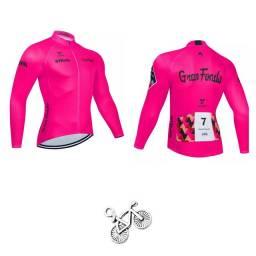 Blusa Feminina de Ciclismo Camisa Ciclista Mtb Speed Bike