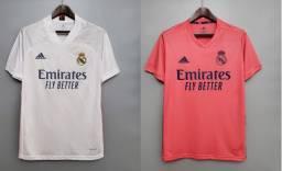 Kit Camisa De Futebol Real Madrid I + Camisa De Futebol Real Madrid I - Pronta Entrega