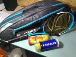 Raquete e raqueteira kit