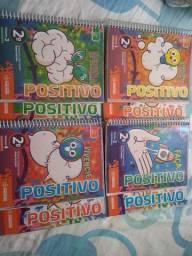 Livros do Sistema Positivo. para 2º ano, em Bom Estado!