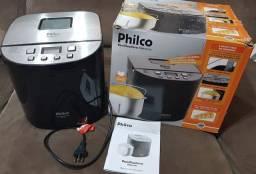 Título do anúncio: Panificadora Phico Eletronic - 12 programas, na caixa com manual de instruções.