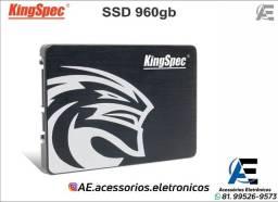 Título do anúncio: SSD 960gb kingspec - Entregamos e Aceitamos Cartões