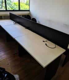 Título do anúncio: 27 mesas de escritório com gaveta