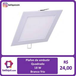Título do anúncio: Luminária Plafon embutir | 18 W | Branco frio 22x22 cm