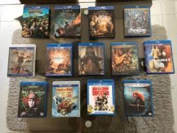 Lote Filmes Blu-Ray 3D Originais