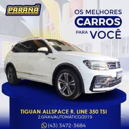 Título do anúncio: Volkswagen Tiguan Allspac R. LINE 350 TSI 2.0 4x4 Gasolina AUT.Comp. Ano:2019