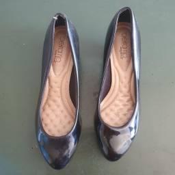 Sapato Beira Rio Conforto Salto Baixo