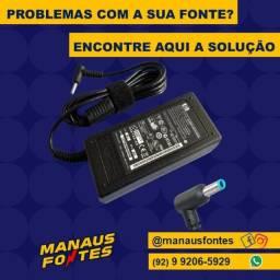 Carregador do Notebook Hp Ponta Azul