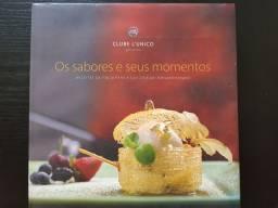 Livro de culinária Italiana com maravilhosas receitas