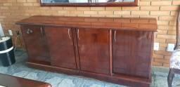 Título do anúncio: Mesa e buffet de madeira e mogno legítimo