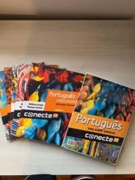 Livro Português Linguagens, Ensino Médio. Conecte editora saraiva