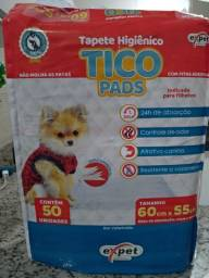 Vendo tapete higiênico para cães tamanho 60 cm x 55 cm