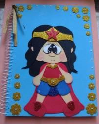 Caderno em Eva Mulher Maravilha