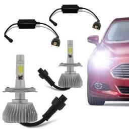Kit Lâmpada Led Automotiva Ultra Led Encaixe H7/H11/H3/H1/H4/H27/HB3/HB4/H28/H16
