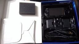 PSP na caixa original com cabo componente