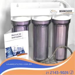 Filtro De Água Deionizador / Desmineralizador para aquário marinho - NOVO