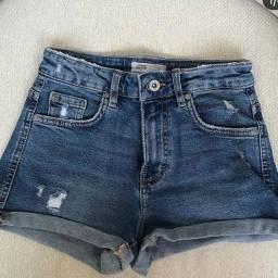 Shorts jeans de marca