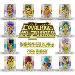Cavaleiros Do Zodiaco CDZ Caneca Com Nome Saint Seiya