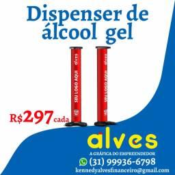Dispenser de álcool em gel