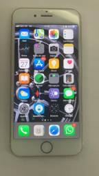 IPhone 6 Gold 128GB Branco com NF de compra