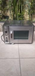 Forno profissional com grill impecavel 220V com ventilador pra fazer pão frances