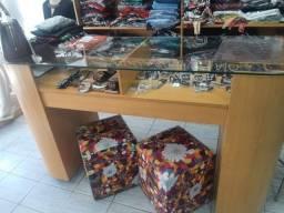 Móveis para loja de roupas ( usado )