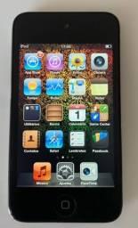 iPod Touch 4a geração 32 GB preto  muito conservado