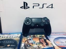 Título do anúncio: Playstation 4 slim 1TB acompanhado com um dualshock 4, LEIA A DESCRIÇÃO